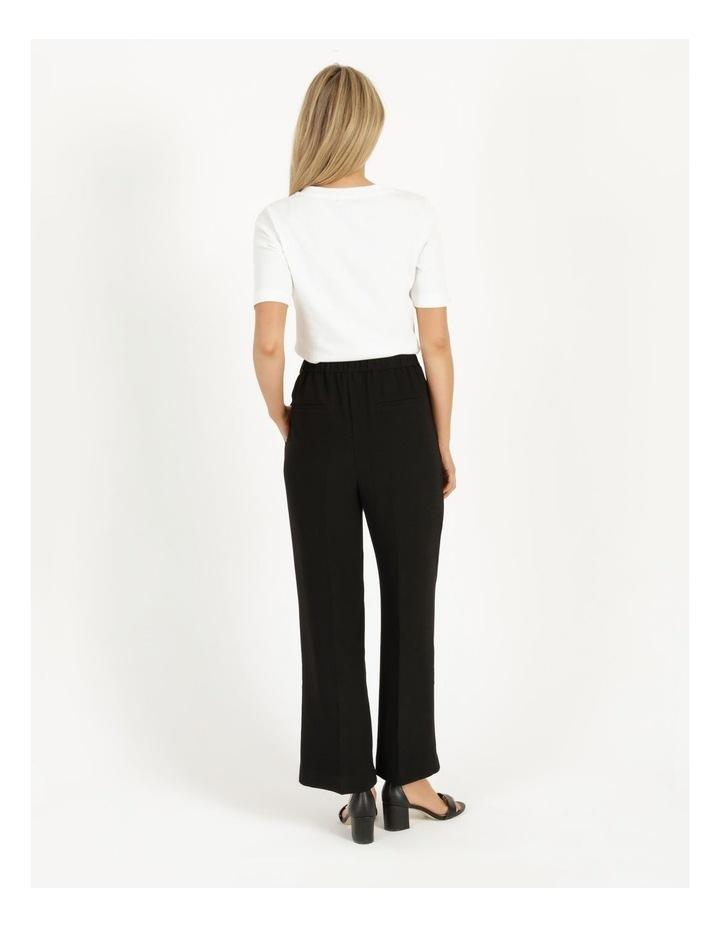 Pull On Wide Leg Crepe Pant image 5