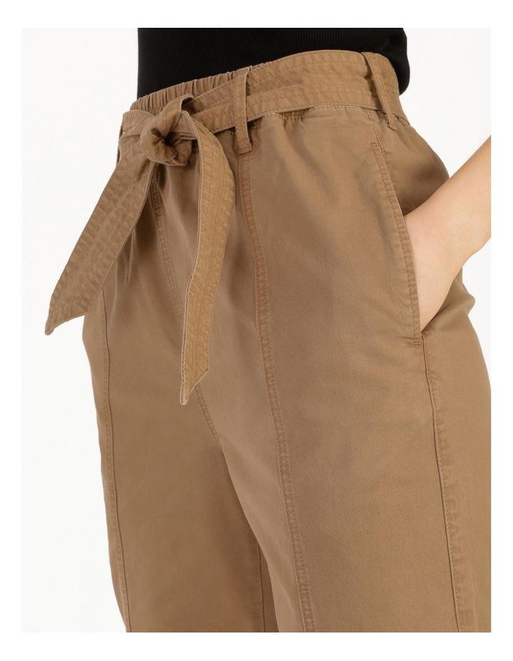 Barrel Leg Belted Pant image 5