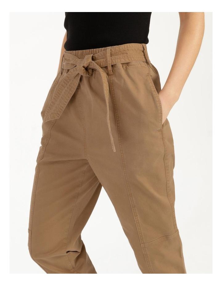 Barrel Leg Belted Pant image 6