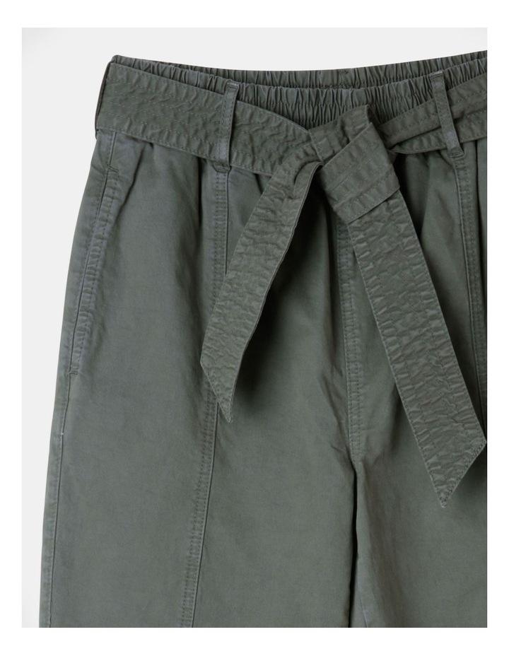 Barrel Leg Belted Pant image 2