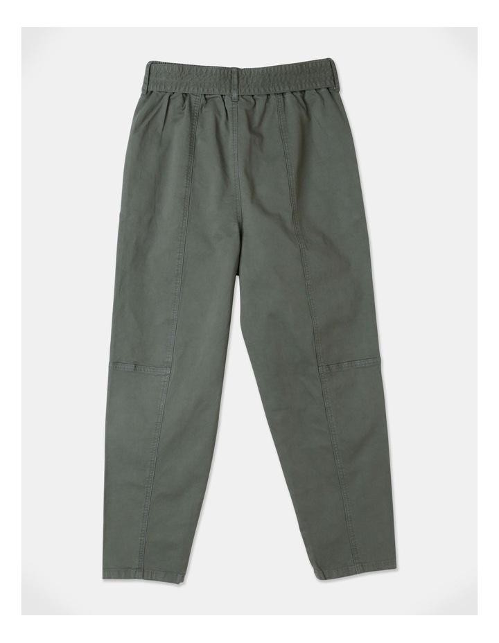 Barrel Leg Belted Pant image 3