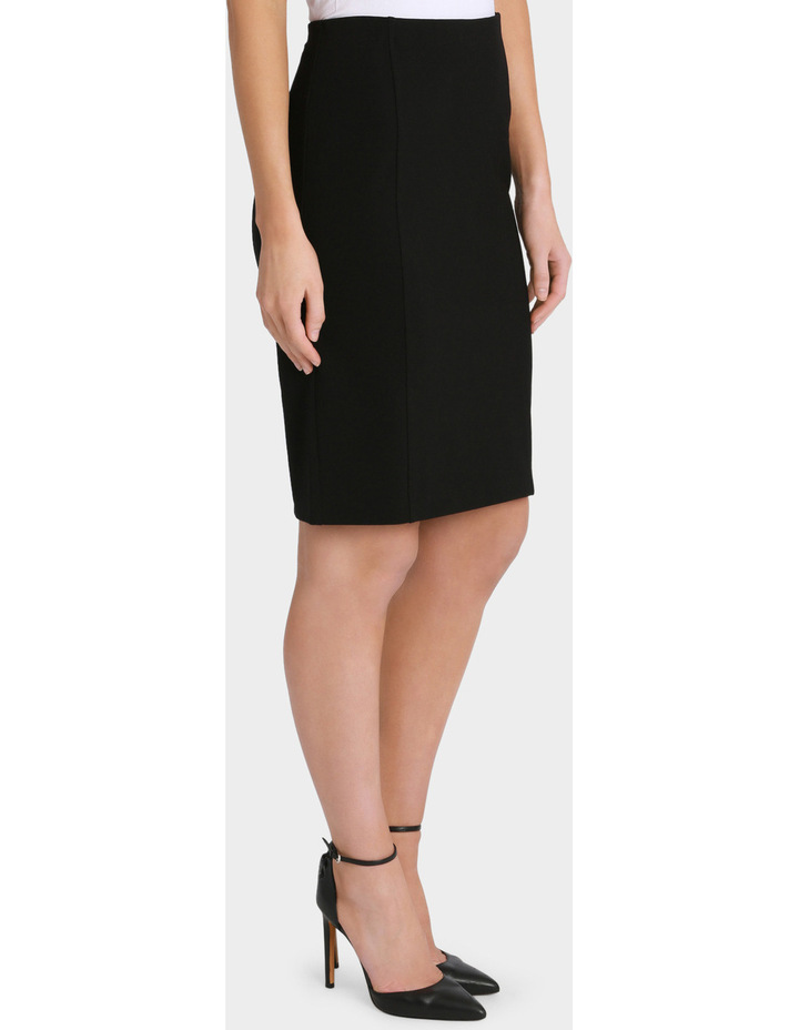 Panelled Ponte Pencil Skirt image 2