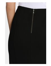 Basque - Panelled Ponte Pencil Skirt