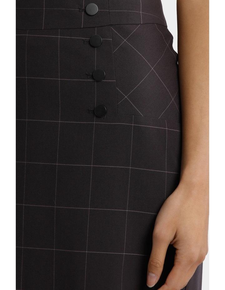 Window Pane Check Suiting Skirt image 4
