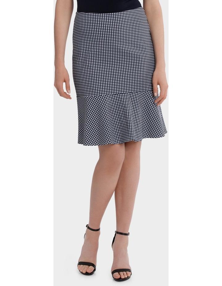Gingham Flip Hem Skirt image 1