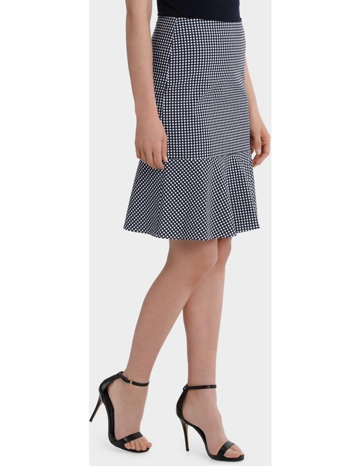 Gingham Flip Hem Skirt image 2