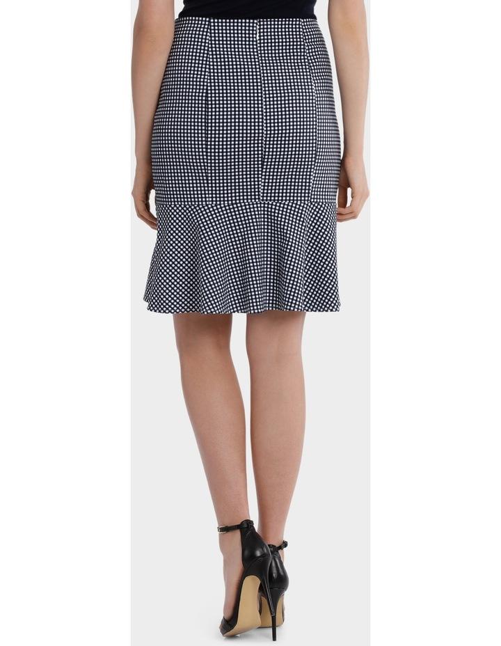 Gingham Flip Hem Skirt image 3