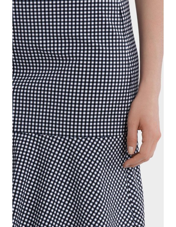 Gingham Flip Hem Skirt image 4