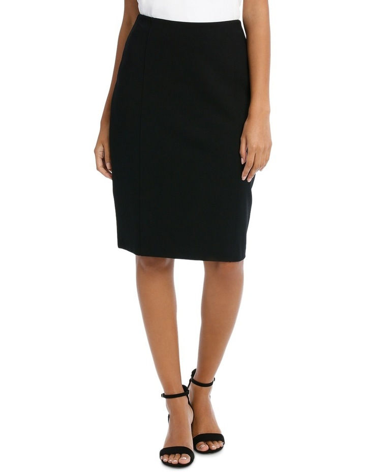 Panelled Ponte Skirt image 1