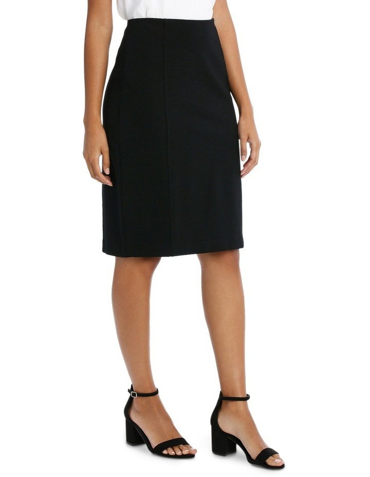 Panelled Ponte Skirt image 2