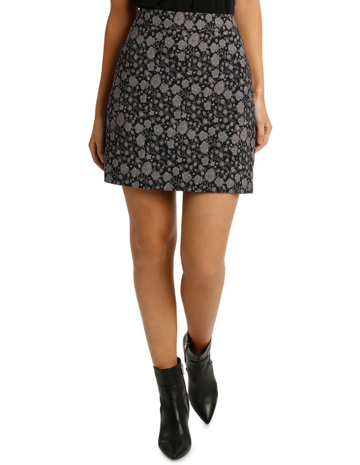 Jacquard Mini Skirt image 1