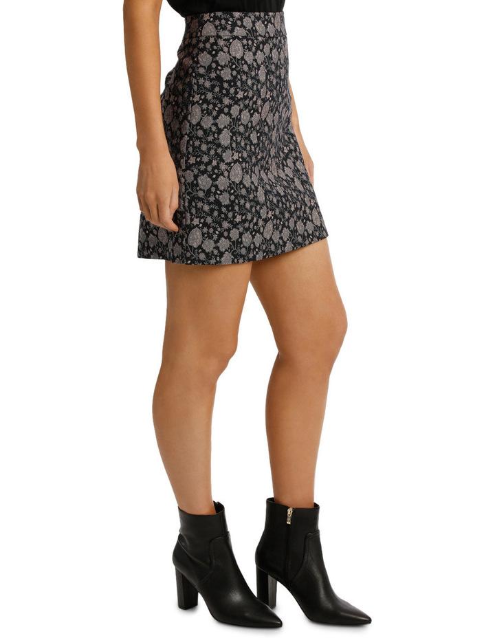 Jacquard Mini Skirt image 2