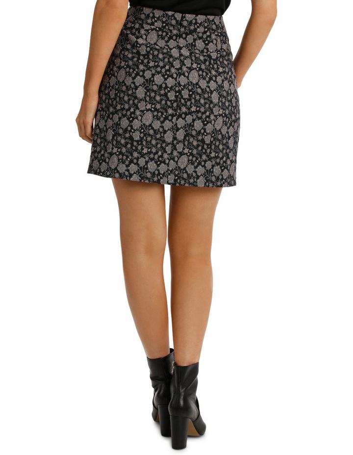 Jacquard Mini Skirt image 3