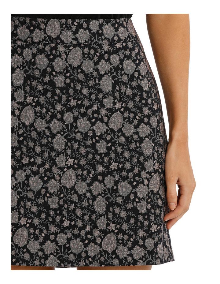 Jacquard Mini Skirt image 4