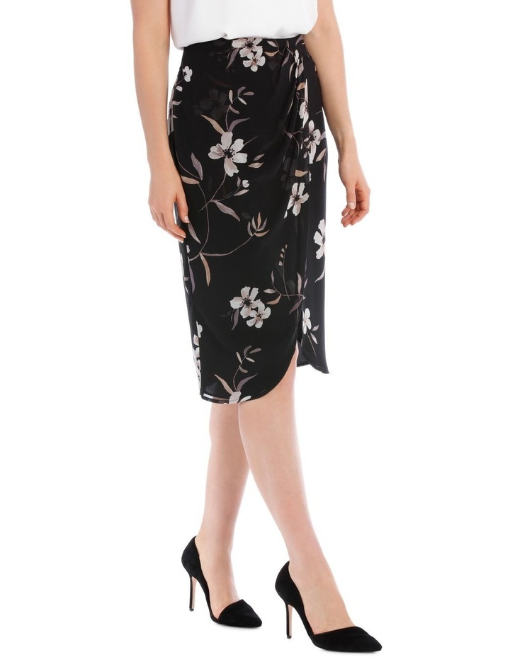 Printed Wrap Skirt image 2
