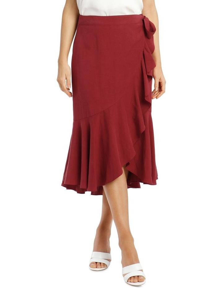 Wrap Linen Skirt image 1