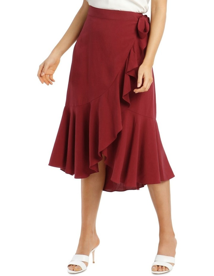 Wrap Linen Skirt image 2