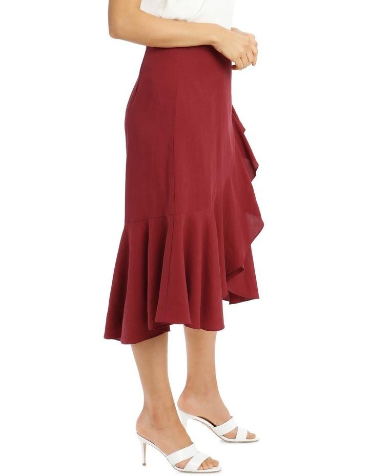 Wrap Linen Skirt image 3
