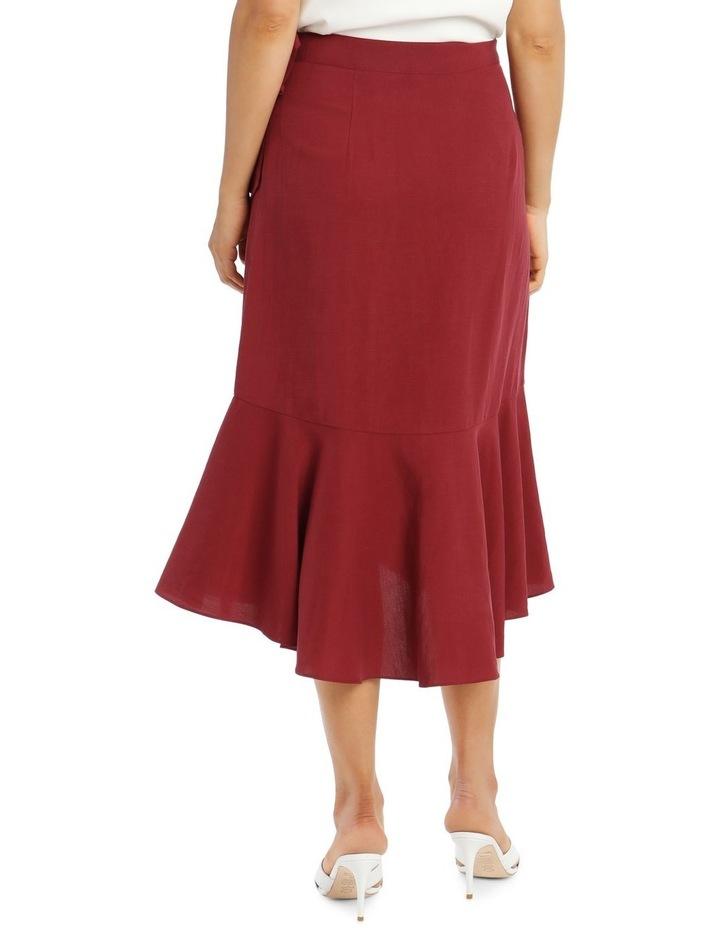 Wrap Linen Skirt image 4