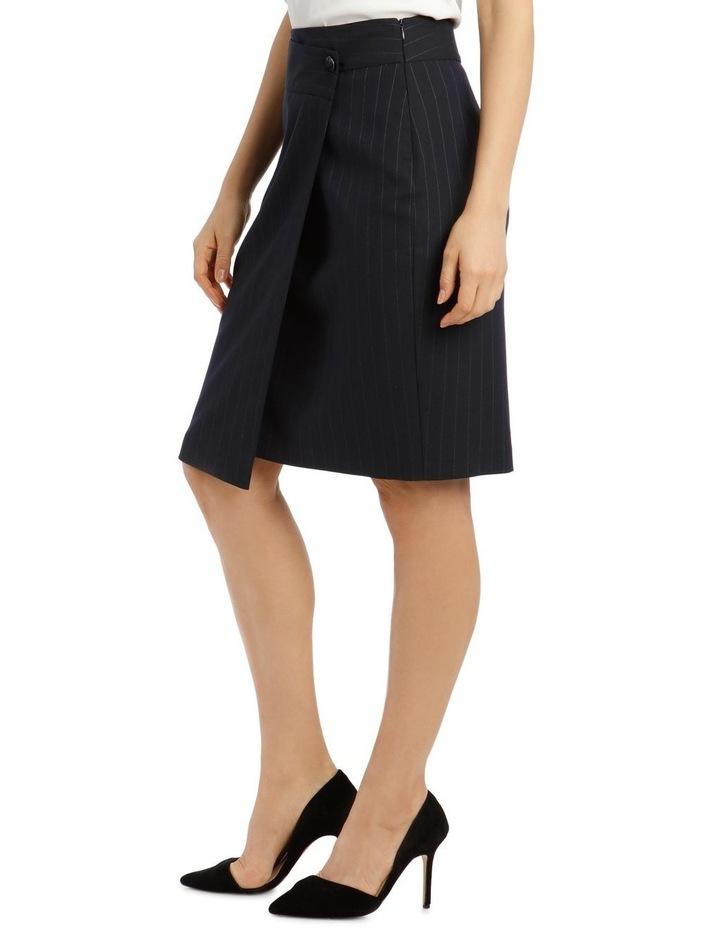 Pinstripe Suit Skirt image 2