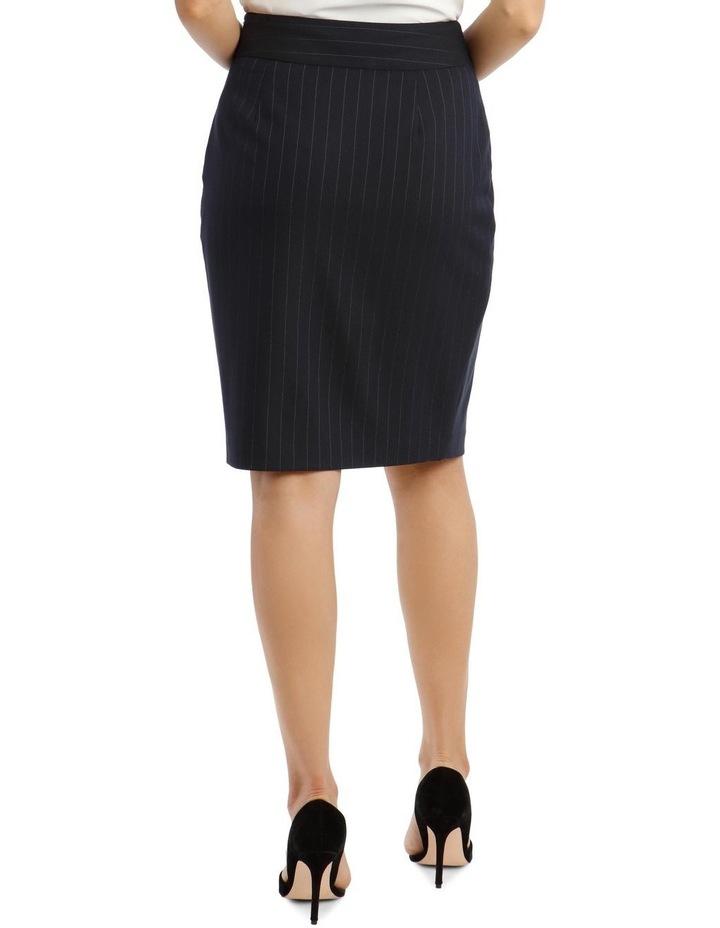 Pinstripe Suit Skirt image 3