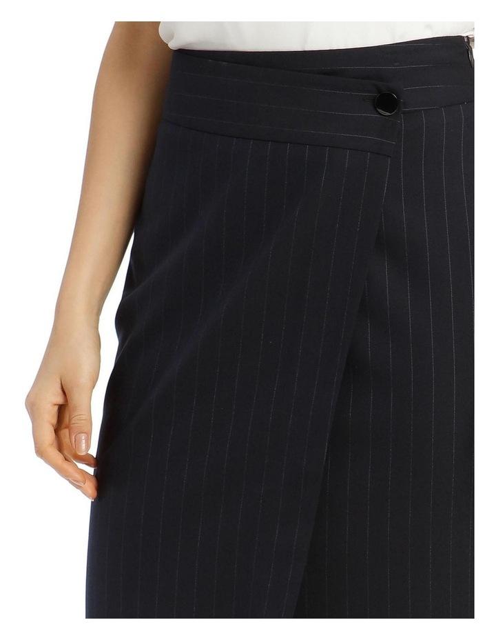 Pinstripe Suit Skirt image 4