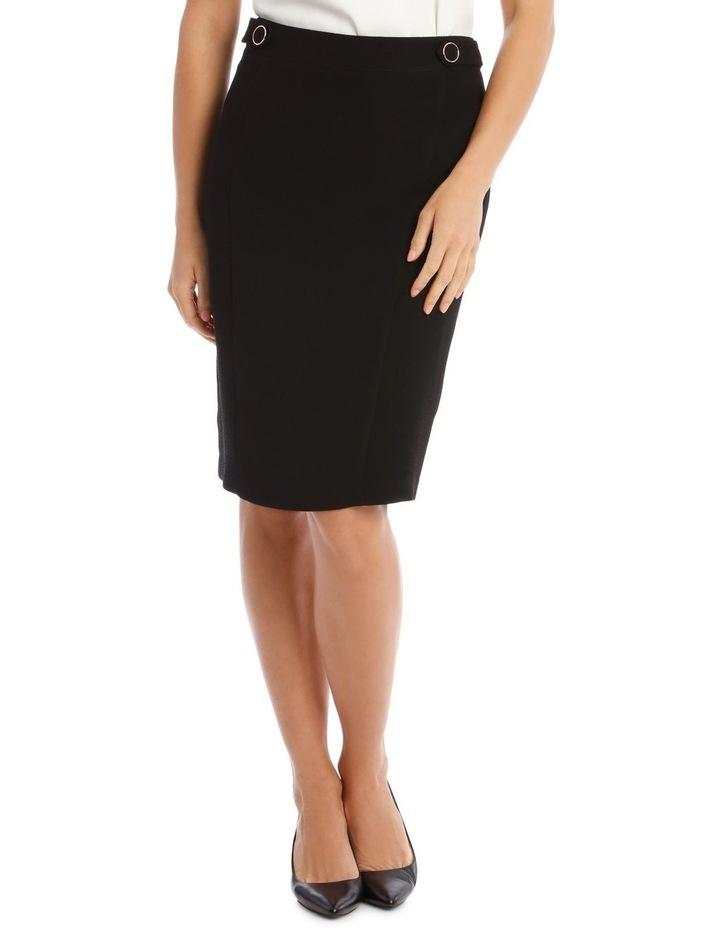 Crepe Pencil Skirt image 1