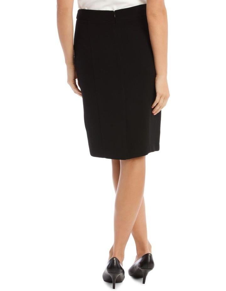 Crepe Pencil Skirt image 3