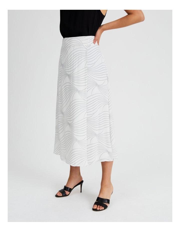 Wrap Printed Skirt image 2