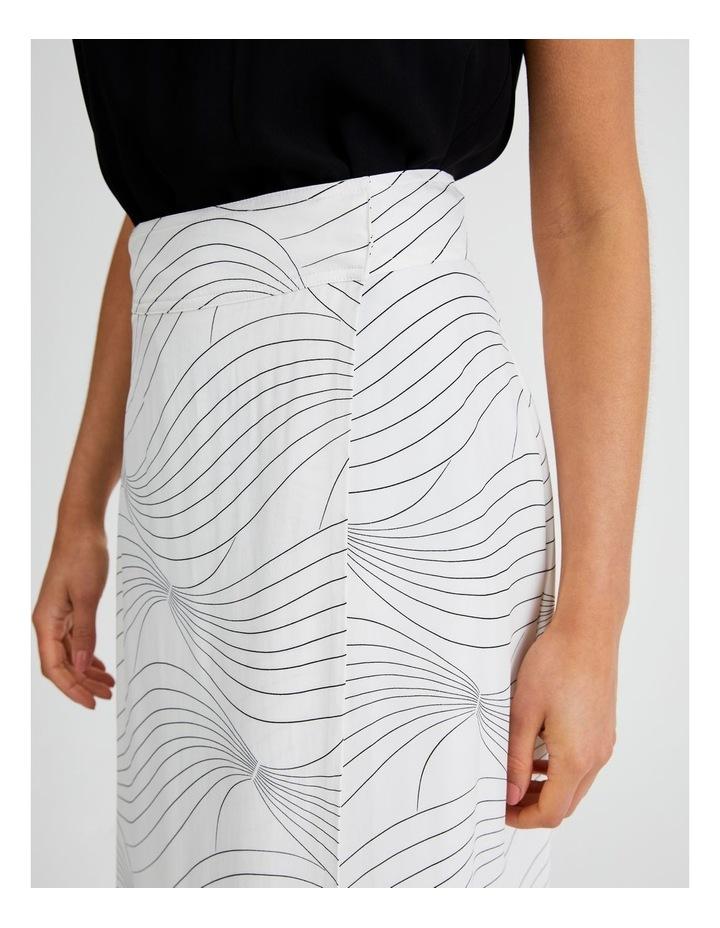 Wrap Printed Skirt image 5
