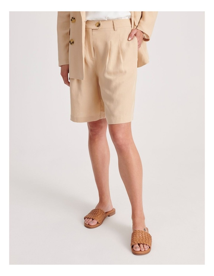 Pleat Front Shorts image 1