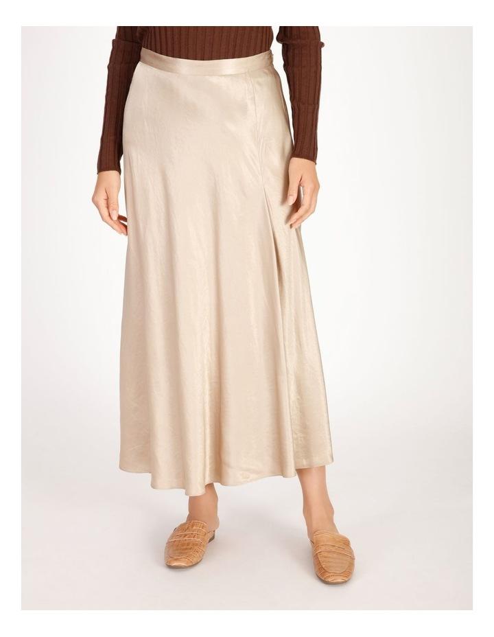 Satin Godet Skirt image 1
