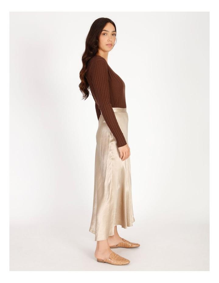 Satin Godet Skirt image 2