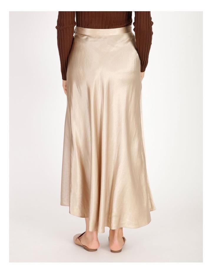 Satin Godet Skirt image 3