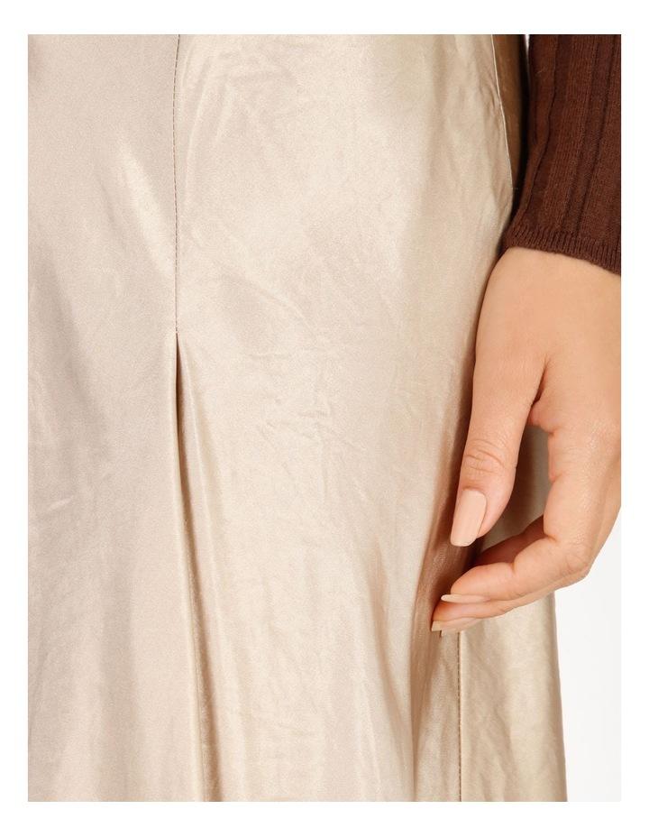 Satin Godet Skirt image 4