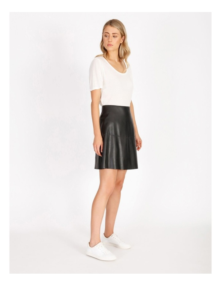 Faux Leather Mini Skirt image 2