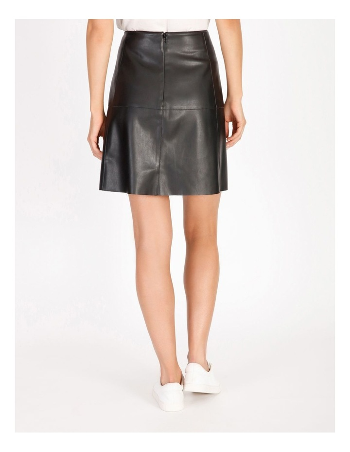 Faux Leather Mini Skirt image 3