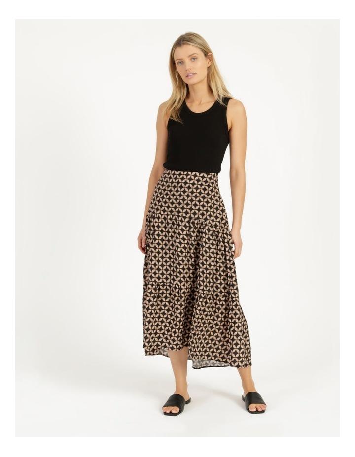 Hi Lo Tiered Skirt image 1