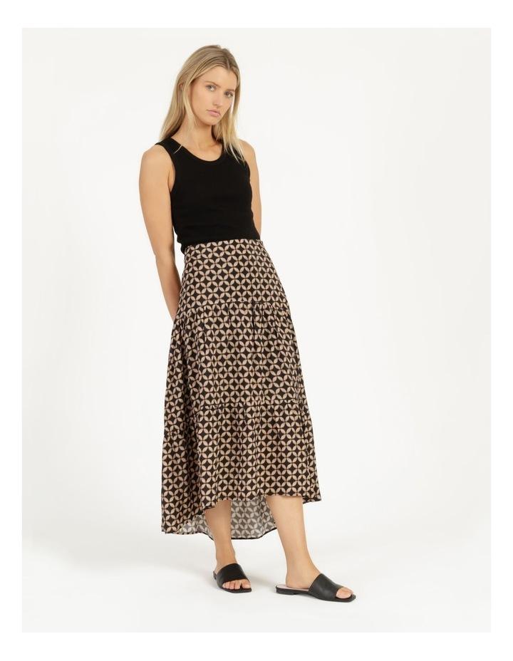 Hi Lo Tiered Skirt image 2