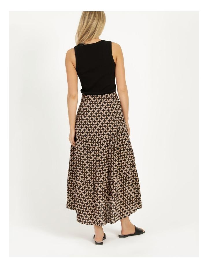 Hi Lo Tiered Skirt image 4