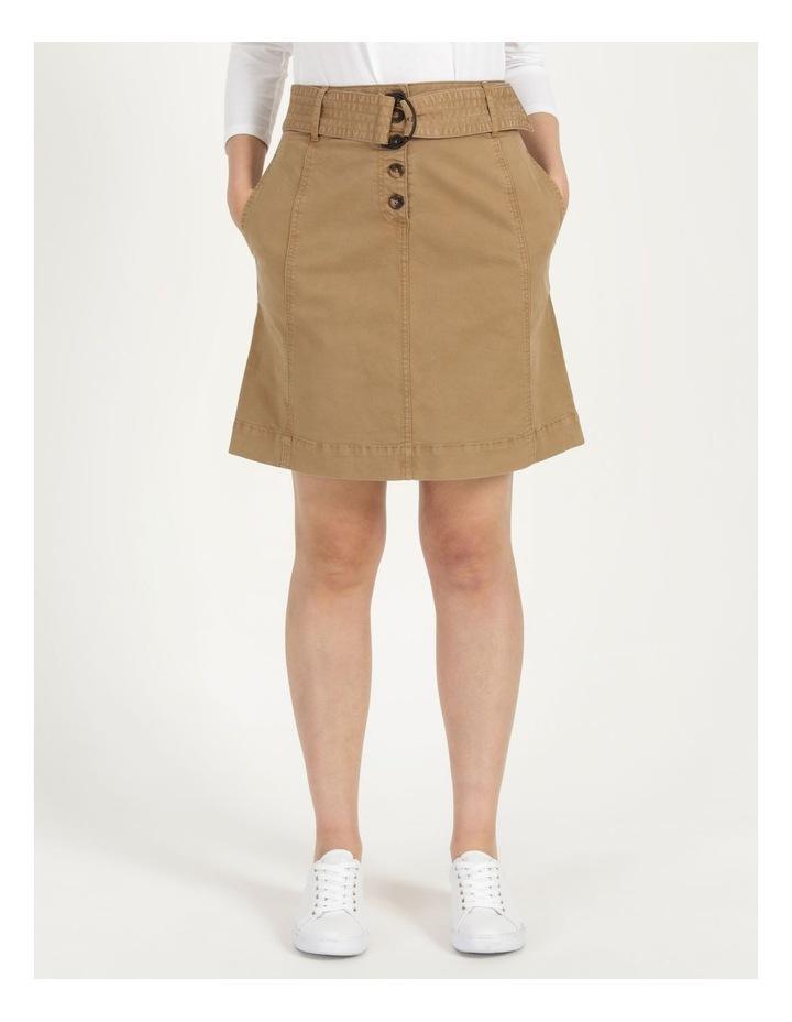 Self Tie Belted Mini Skirt image 4