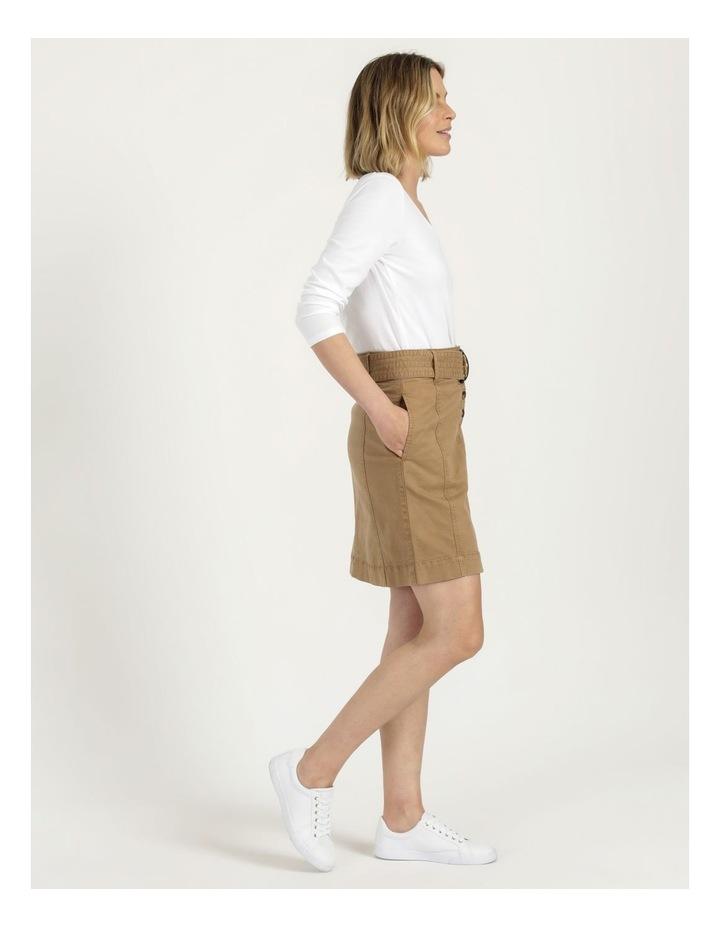 Self Tie Belted Mini Skirt image 5
