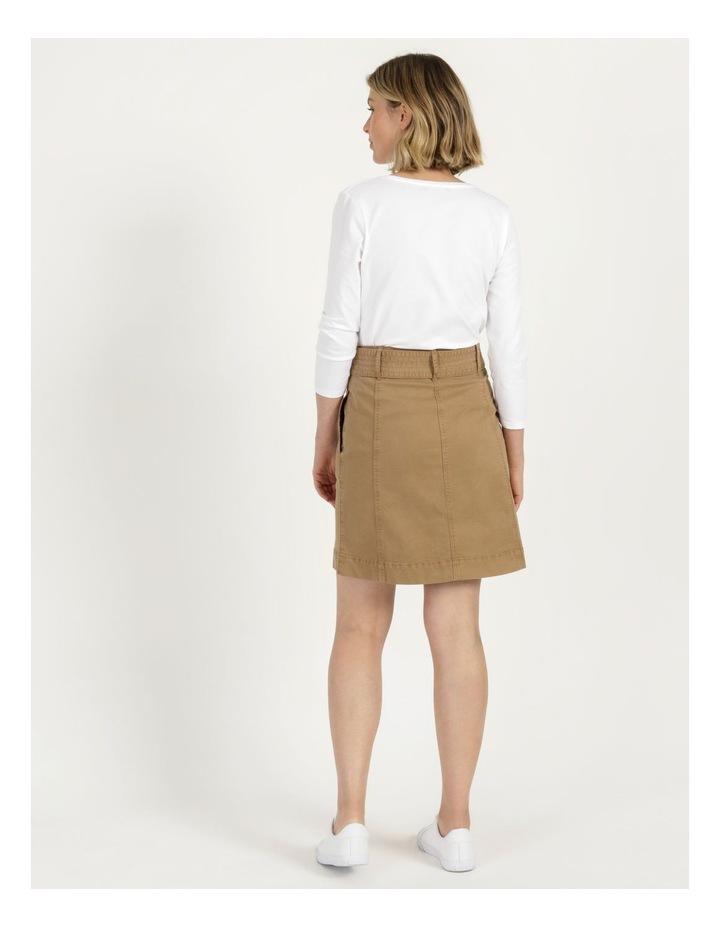 Self Tie Belted Mini Skirt image 6