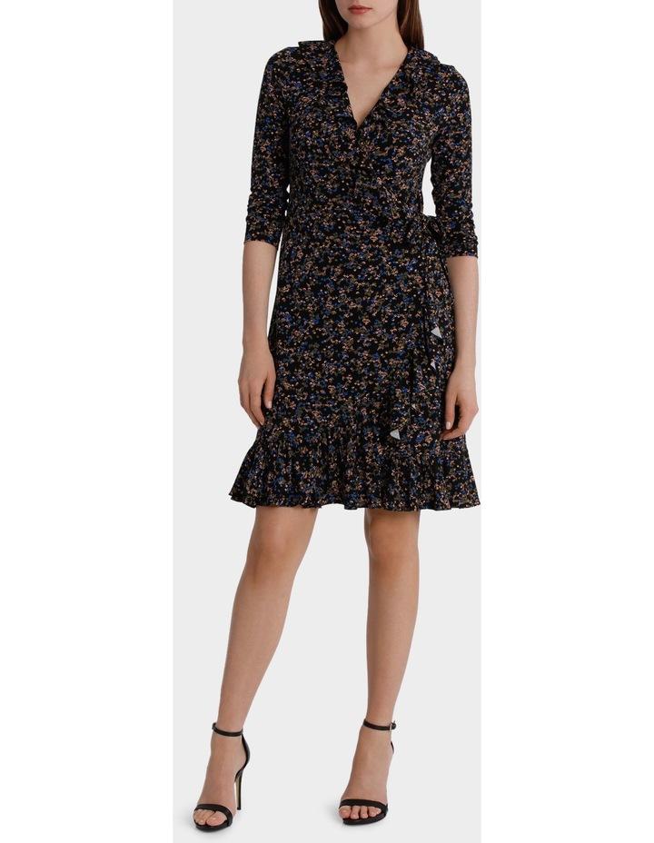 Moss Print Flamenco Jersey Dress image 1