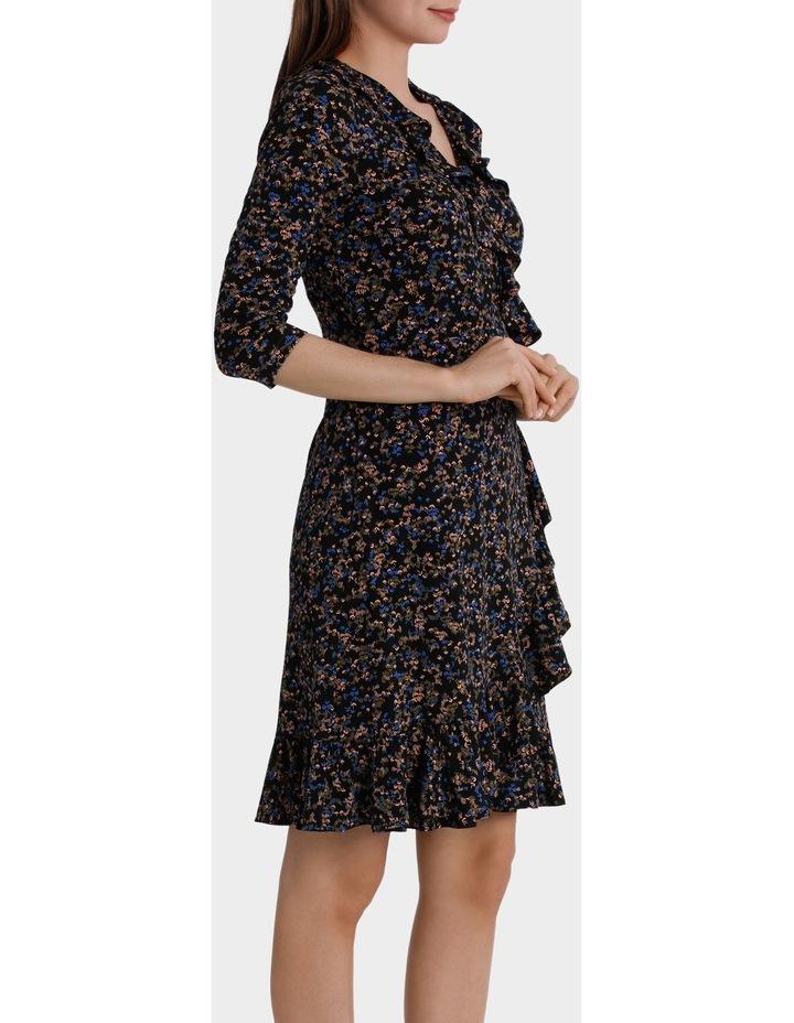 Moss Print Flamenco Jersey Dress image 2
