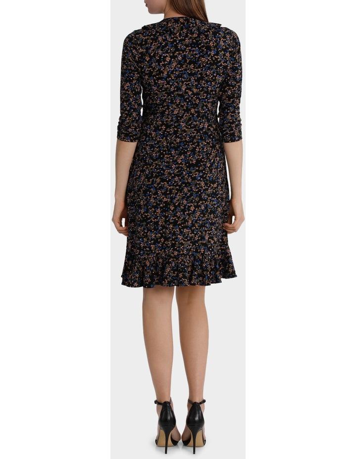 Moss Print Flamenco Jersey Dress image 3