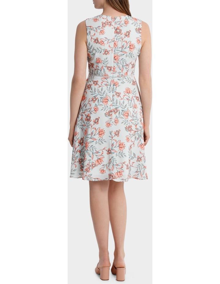 Lantern Floral Print Tea Dress image 3