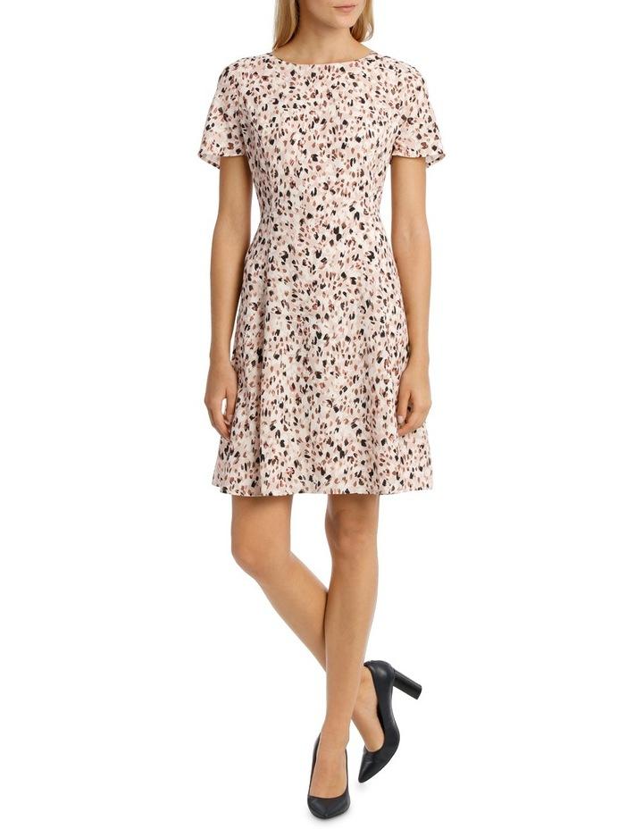 Soft Fit & Flare Short Sleeve Dress image 1