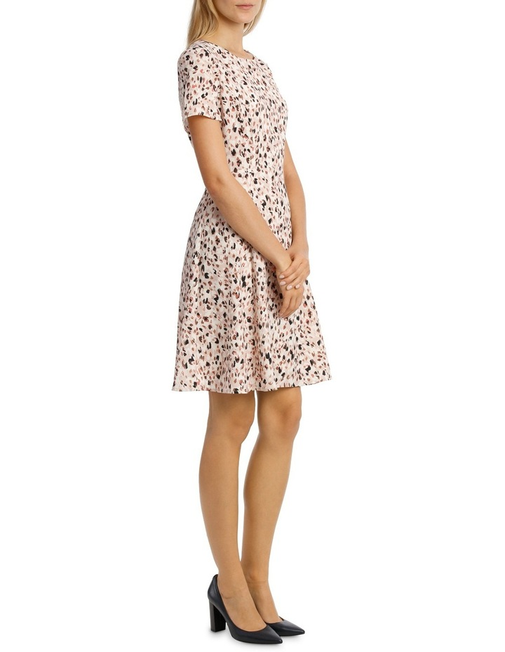 Soft Fit & Flare Short Sleeve Dress image 2