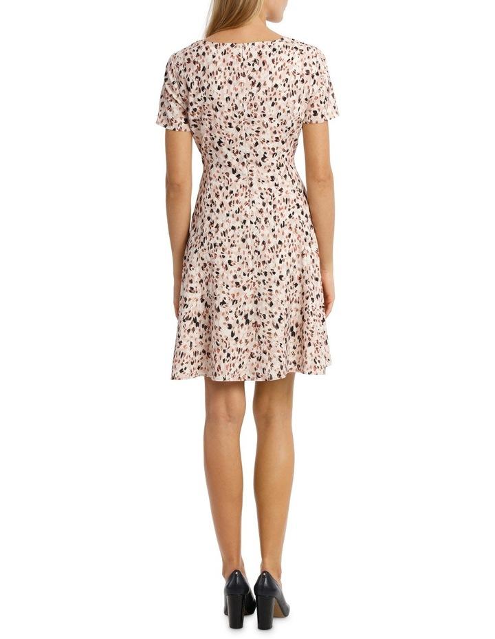 Soft Fit & Flare Short Sleeve Dress image 3